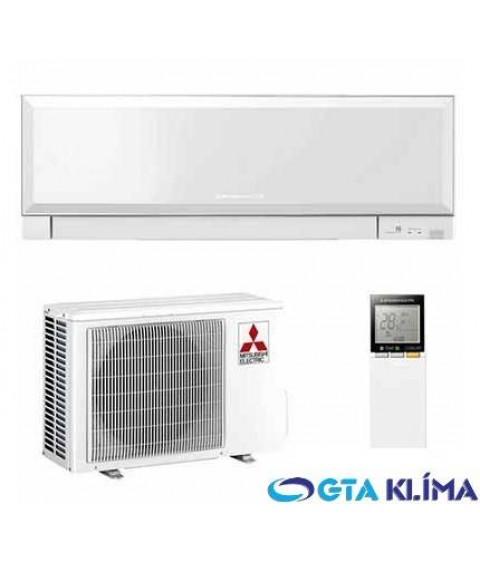 Nástenná klimatizácia Mitsubishi Dizajnová jednotka biela MSZ-EF25VE3W 2,5kW