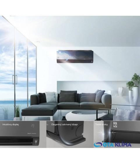 MULTISPLIT LArtcool Mirror s Wifi 3,5kW + 3,5kW AC12BQ+AC12BQ